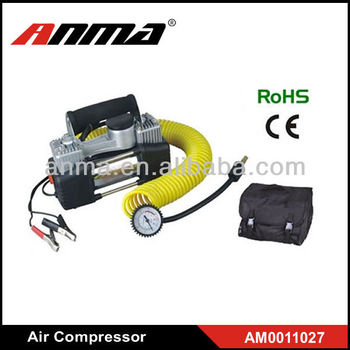 150psi Heavy duty car air compressor/ 12v air compressor car tyre inflator