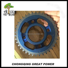 YBR125 Motorcycle chain sprocket price