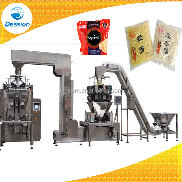 Dry Product Vertical Bagging Packing Machine With Heavy Duty Conveyor
