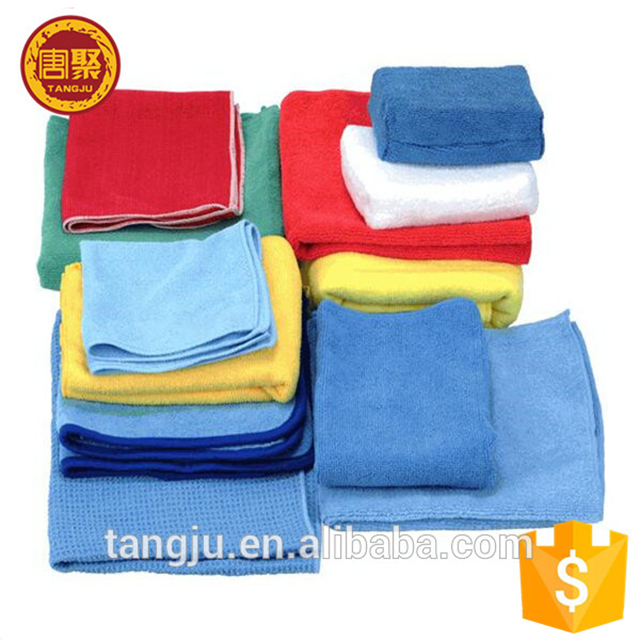 Super absorbent microfiber dust cloth for car cleaning