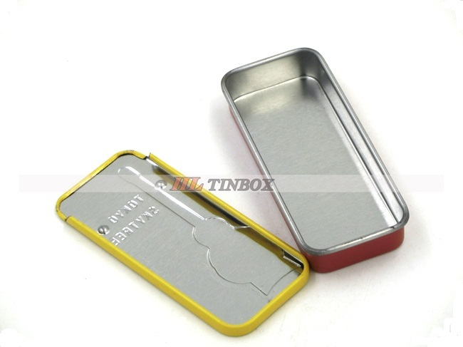 New design Slide Tin with Great Price