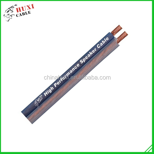 Haiyan Huxi High End Speaker Cable, Latest Style ,Copper Speaker Cable Wire
