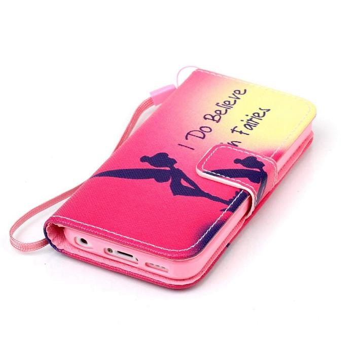 Luxury Flip Wallet Leather Case With Card Holder For iPhone 5 5s 6 s 7 7 plus