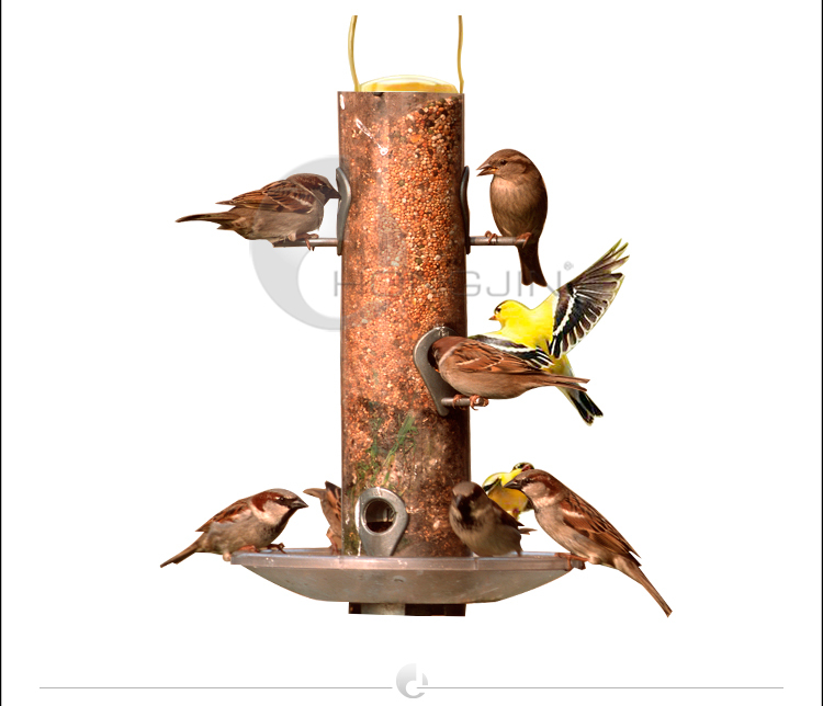 Hongjin High End Copper Automatic Bird Feeder