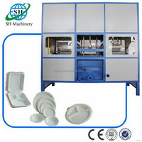 Special manufacture automatic paper lunch box making machine