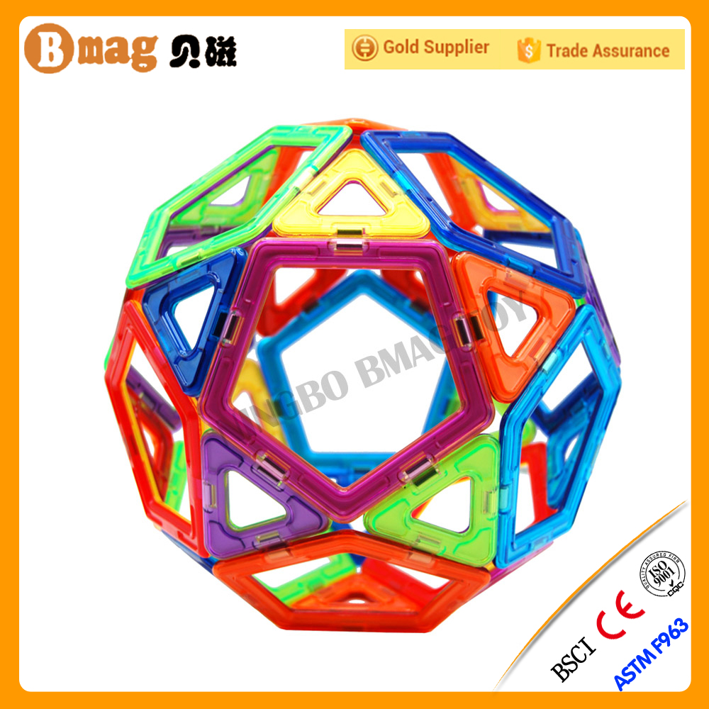High Quality DIY Magical magnetic toys/Educated magformers building sets