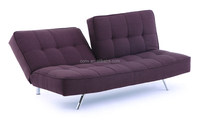 Furniture Store japanese tatami folding sofa bed With Velvet Fabric