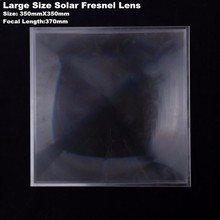 Best Selling 350mm Large Fresnel Lens Solar Concentrator with optical