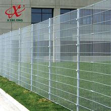Powder spraying coated popular double welded wire mesh fence
