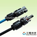 TUV approved XLPE insulated PV1-F solar DC power 6mm2 cable MC4 Extension Solar Cable