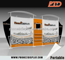 Portable and fashionable exhibition booth material