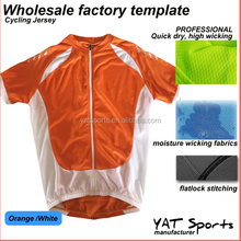 pro team specialized logo printing my factory template plain color Short sleeve custom wholesale cycling jersey