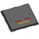 EN124 C250 800x600 rectangle ductile iron casting manhole cover