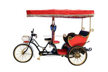 China Supplier Passengers Pedal Rickshaw Tricycle With low price