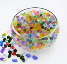 China Factory supply Bulk packing 1kg Crystal Soil ECO friendly Absorbent resin magic water beads 13 colors orbeez