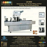 Automatic Bottle Filling and Foil top Sealing Machine for Juice, Milk, Yoghurt etc.