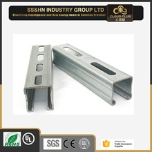 Factory price Hot Dip Galvanized stainless steel metal gi c strut channel purlin sizes