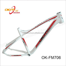 Alloy mountain bicycle frame