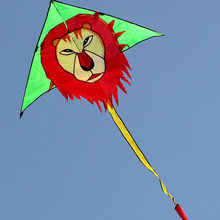 easy fly child flying lion kite