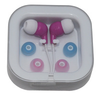 colorful earphone earbud free sample offered