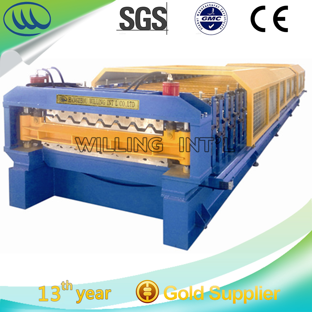 Good price Double Layer Roll Forming Machine rollformers Metal Roofing Corrugated Steel Sheet Wall Panel tile making