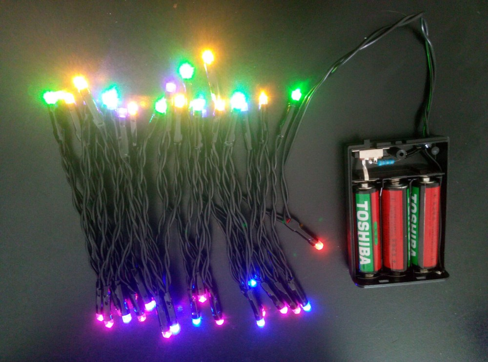 Battery Powered Led String Light - Buy Battery Powered Led String Light,Christmas Light,Festival ...