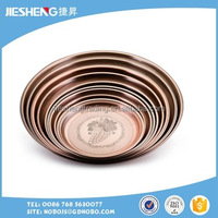 different size round High quality stainless steel tray