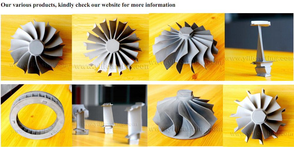 precision casting nozzle guide vanes rc jet turbine engine