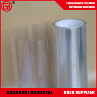 Laminated polyester pet release film for electronic die-cutting