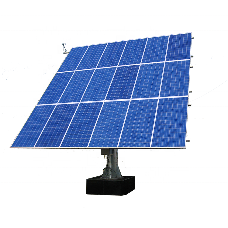 5KW dual axis solar tracker solar panels tracking system