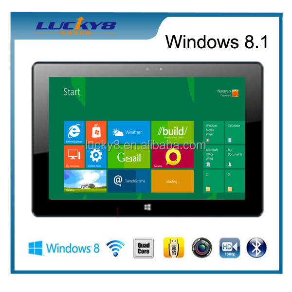 Windows tablet pc 2gb with 10.1 inch 10 points touch screen external 3G IPS 1280*800 Windows 8 tablet PC