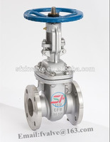 API Carbon Steel A216 Wcb Gear Box Operator Flange End Gate Valve