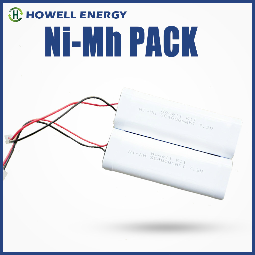 Clean energy - nimh 4.8v 500mah battery / nimh rechargeable battery pack 4.8v / battery packs 4.8v nimh