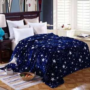 Polyester wool blankets must be cheap for home travel made in China
