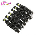 XBL factory wholesale cuticle aligned virgin brazilian hair deep wave