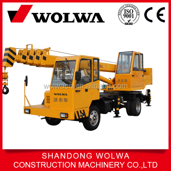 Wolwa Small Lifting Telescopic Boom Crane Mounted Car Truck