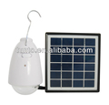 1W LED portable solar hanging lamp, solar lamp indoor