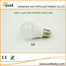 China Factory Supply 12V Led Bulb E27 3W/5W/7W/9W/12W/15W