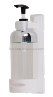 restaurant wall mounted bathroom manual plastic bottle