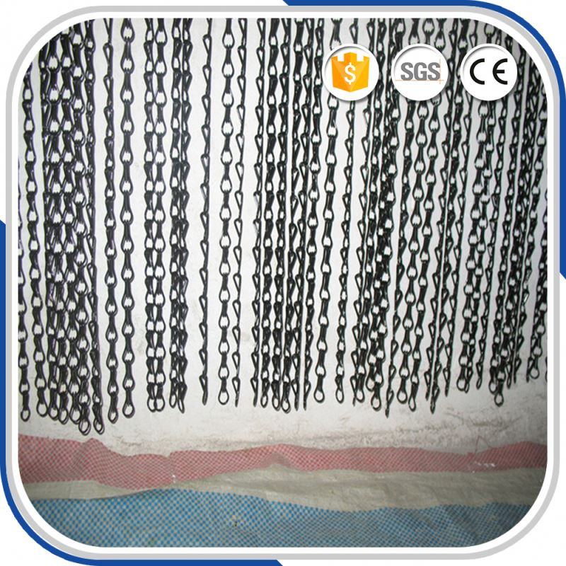 decoration aluminum chain door link insect curtain for fly screen