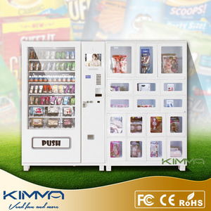 Hot Selling Condom and Deli Combo Vending Dispenser with Debit Card