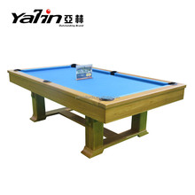 Modern Style Solid Wood Hand Carved Luxury Pool Table, Snooker Table, Billiard