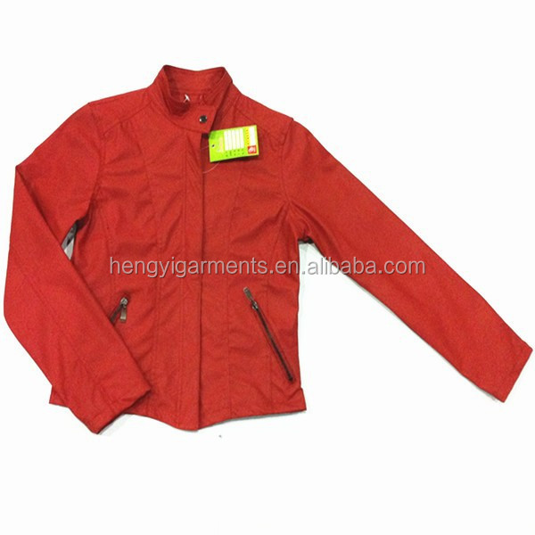Good Quality Women PU Leather Jacket Karachi