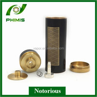 2014 Full mechanical new design from phimis 26650 Notorious mod