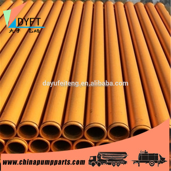 Good quality st52 concrete pump pipe and Spare Parts for Concrete Pump Truck and trailer