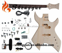 Shengque Custom Shape High Quality Electric Guitar Kit