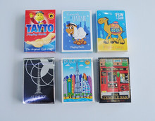 top quality,custom design paper plastic bicycle magic playing card packed with tin box for Casino