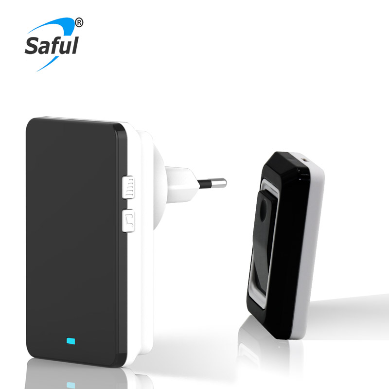 Luxury rainproof wireless doorbell Saful TS-K108 cheapest dingdong doorbell