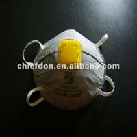 CE FFP2 white color cup disposable breathing mask