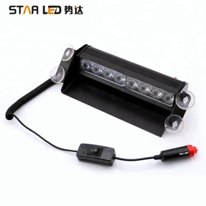 emergency flashing hazard warning flare road side safety light security car mini led light bar octagon strobes rooftop beacon